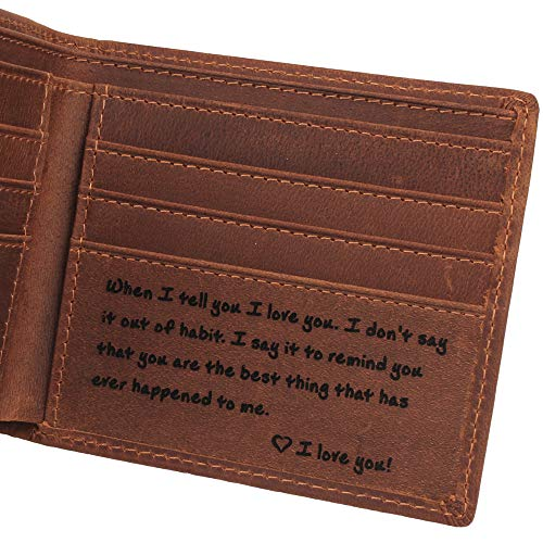 (Personalized Leather Engraved)