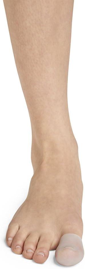 M//L Bloch Mens Clear Ballet//Pointe Shoe Stretch Toe Tips Medium//Large