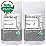 Organic Charcoal Deodorant - The Only USDA Certified Organic,...