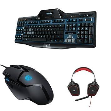 Logitech Basic Gaming Bundle - G510s Keyboard, G402 Mouse