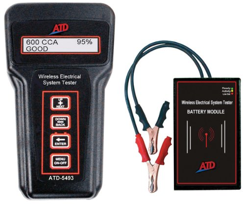 Wireless Battery System Diagnostic Tester-by-ATD TOOLS
