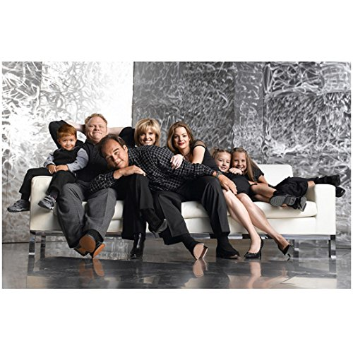 According to Jim cast together on white sofa 8 X 10 Inch Photo (Name Sofas Brand)