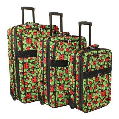 3 Piece Luggage (3 Piece Print Luggage Set)