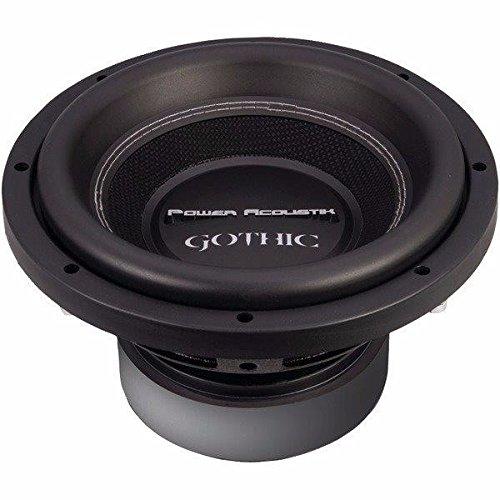 (Power Acoustik Gw3-10 Gothic Series 2_ Dual Voice-Coil Subwoofer (10
