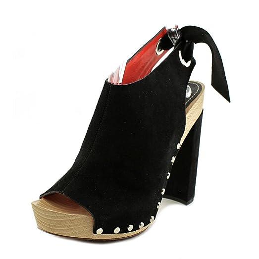 Proenza Schouler Black High Clog Heels jkeBg1