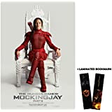 "The Hunger Games: Mockingjay Part 2 (2015) - Katniss Chair - Movie Poster Reprint 13"" x 19"" Borderless + Laminated bookmark"