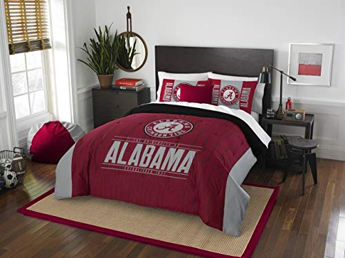 - The Northwest Company Alabama Crimson Tide NCAA King Comforter Set (Modern Take Series) (102 x 86)