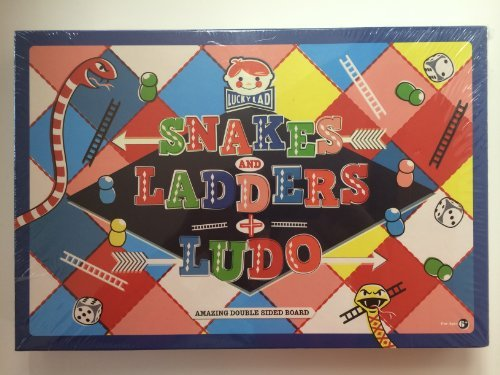 Lucky Lad Snakes Ladders Ludo