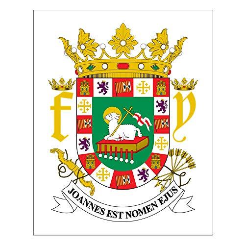 CafePress Puerto Rico Coat of Arms 16