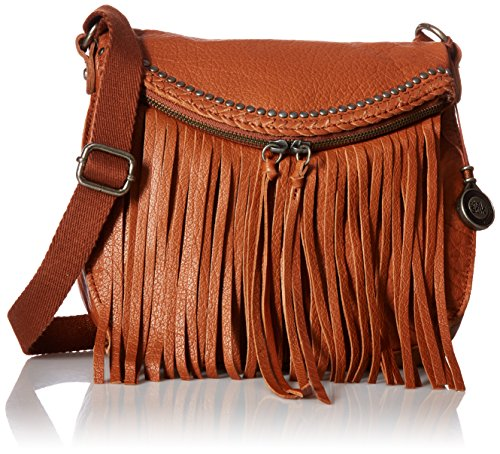 The Sak Silverlake Crossbody Bag, Tobacco Fringe, One size by The Sak