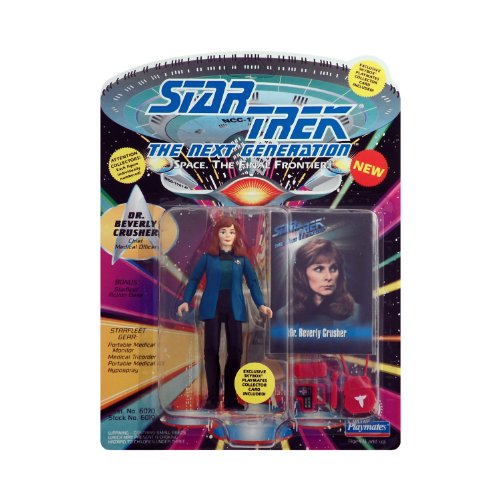 (Star Trek the Next Generation Dr. Beverly Crusher with Silver Accesories)