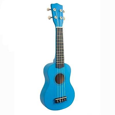 ADATEN Ukelele Instrumentos de Guitarra Principiante 21 Pulgadas Cuerda de Nylon de Madera Hawaiana Guitarra de 4 Cuerdas Rompecabezas acústico Instrumentos Musicales de Aprendizaje temprano,C: Deportes y aire libre