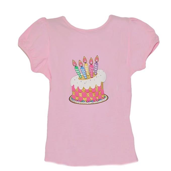 Amazon Birthday Cake With Candles T Shirt Clothing
