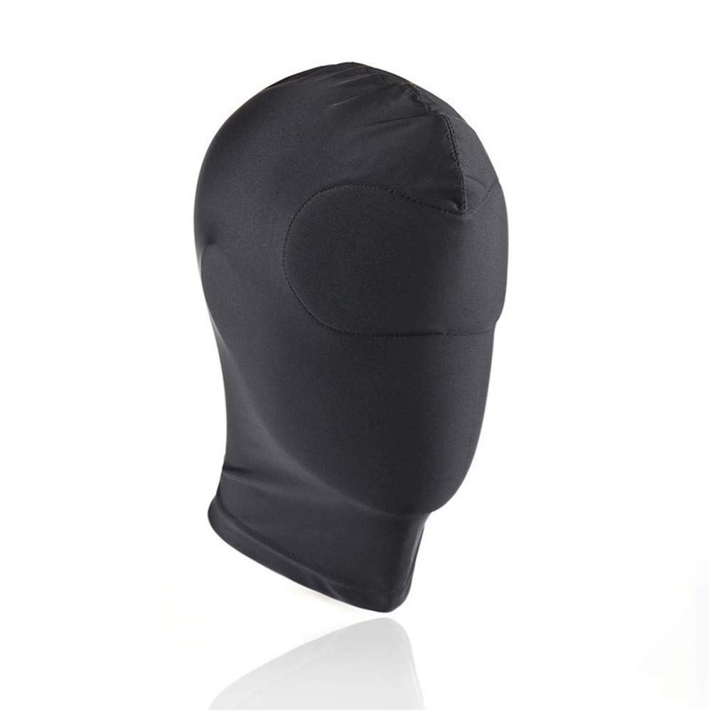 ShengMing High Stretch Full wrap Blackout, Role Playing Black Camouflage mask