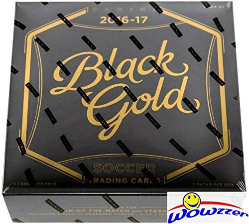 2016/2017 Panini Black Gold Soccer HOBBY Factory Sealed Box-2 AUTOGRAPHS - Soccer Hobby Box