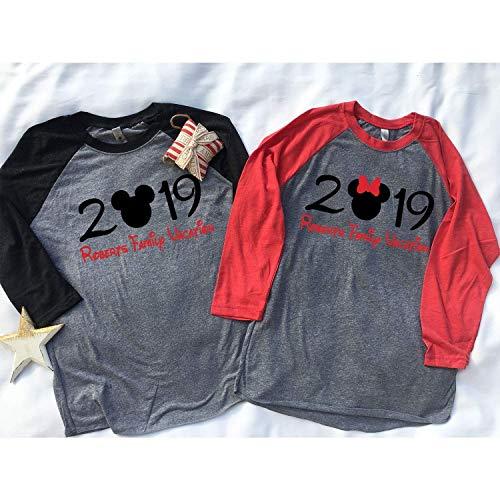 Family disney world shirts 2019, Disney Family Shirts, Matching Family Disney Shirts, Personalized Disney Shirts for Family