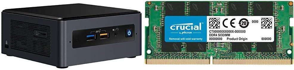 Intel NUC Kit NUC8I7BEH2 - Kit ordenador Mini PC (Intel Core i7 ...