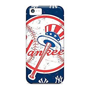 Rosesea Custom Personalized High Quality Shock Absorbing Cases For Iphone 5c-new York Yankees