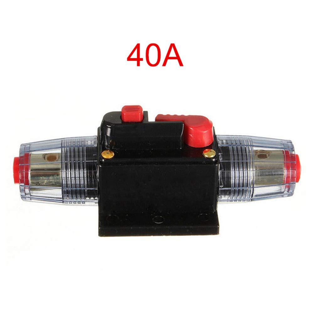 100/A 12/V de Voiture Truck amplificateur Audio Disjoncteur Porte-fusible AGU amplificateur st/ér/éo//Adaptateur Majome 20