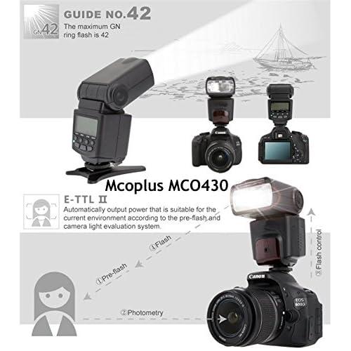 chic Kaavie® Mcoplus MCO430N i-TTL Universal Speedlite Flash
