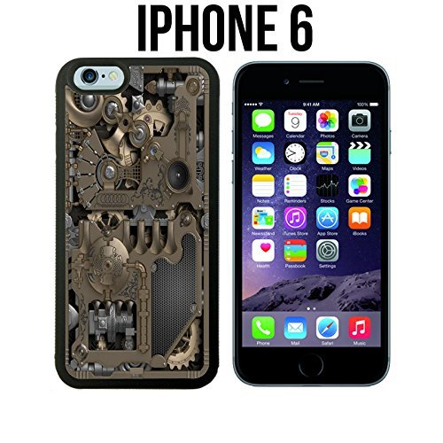 steampunk-mechanical-gears-custom-made-case-cover-skin-for-iphone-6-black-rubber-case-ships-from-ca