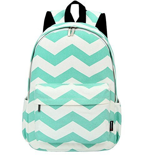 West Beauty Causal Lightweight Canvas Cute Backpacks Computer 14