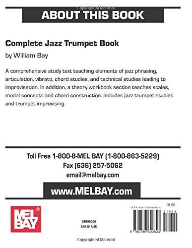 Complete Jazz Trumpet Book 9780786602803