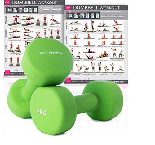 KG Physio Premium quality dumbells for women and men, sold a...