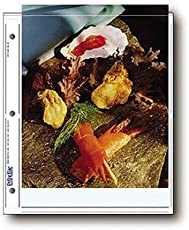 """Archival Photo Pages Holds Two 8 x 10"""" Prints, Pack of 25"""