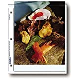 "Archival Photo Pages Holds Two 8 x 10"" Prints, Pack of 25"