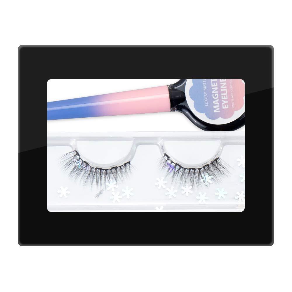 Magnetic Eyeliner With Magnetic Eyelashes,