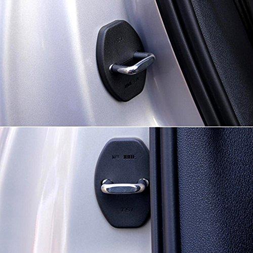High Flying Verrou de Porte Coque de Protection Boucle D/écoration 4/pcs pour Karoq//Kodiaq 2017/2018/Accessoire Auto