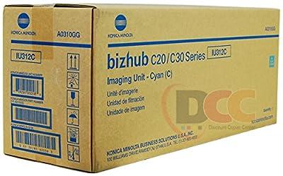 Genuine Konica Minolta IU312C Cyan Imaging Unit for Bizhub C20 C30P C31P A0310GG