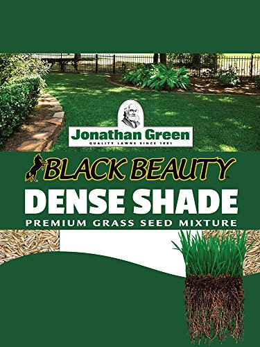 Jonathan Green 10610 Dense Shade Grass Seed Mixture, 25-Pound