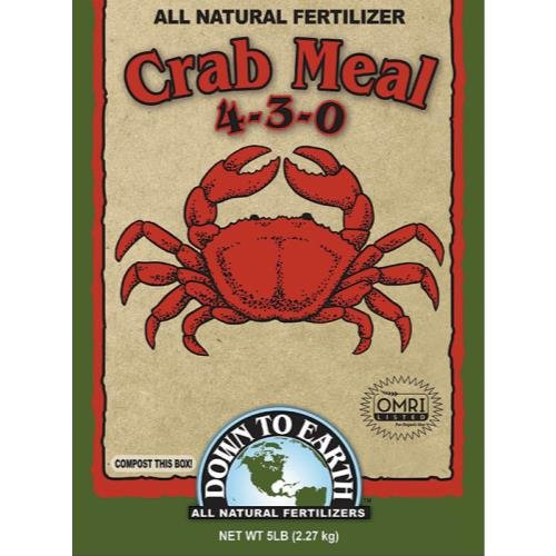 Down To Earth Crab Meal - 5 lb (6/Cs) (Meal Fertilizer)