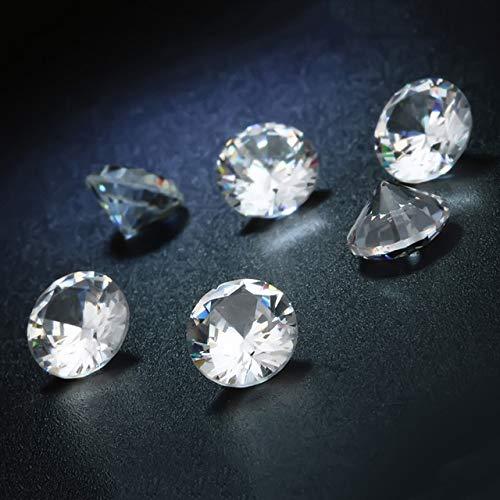 (Calvas 6PCS/Pack Top Quality 16 Colors AAAAA Cubic Zircon Beads Round Pedra de Zirconia DIY Beads for Jewelry Accessories - (Color: BS))