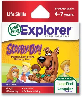 LeapFrog Scooby-Doo! Pirate Ghost of the Barbary Coast Learning Game (works with LeapPad Tablets, LeapsterGS and Leapster Explorer)