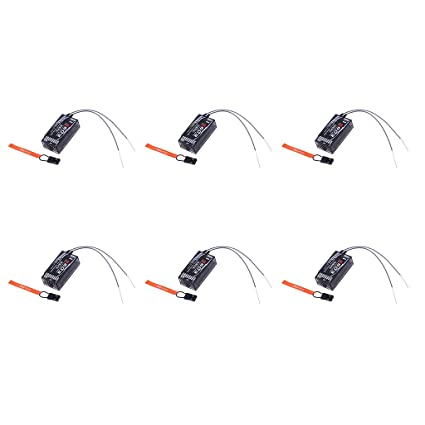 B Blesiya 6pcs RC JR Spectrum DSM-X DSM2 7 Channels 2 4GHz