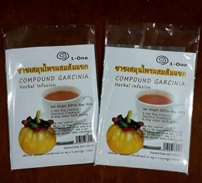 Garcinia Cambogia Tea Bags Diet Weight Loss Slim Pure Organic Herbal 40 Teabags
