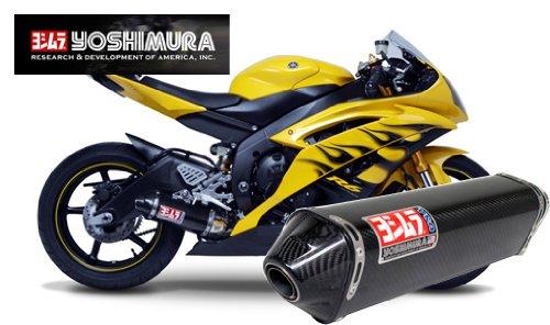 - Yoshimura TRC Carbon Fiber Slip-On Exhaust for 2006-2011 Yamaha YZF-R6V - EPA N - Yamaha YZF-R6 2006-2010