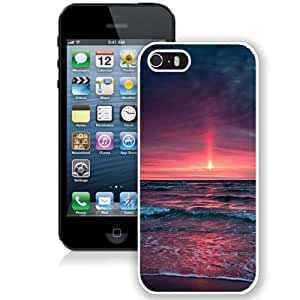 Red Sea Sunset (2) Durable High Quality iPhone 5S Phone Case