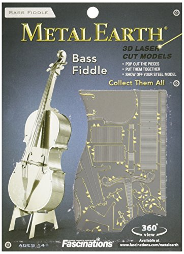 Metal Earth by Fascinations Bass Fiddle