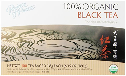 Prince of Peace Tea, Black, 100 Count