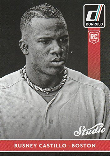 2015 Donruss Studio - 2015 Donruss Studio #6 Rusney Castillo -