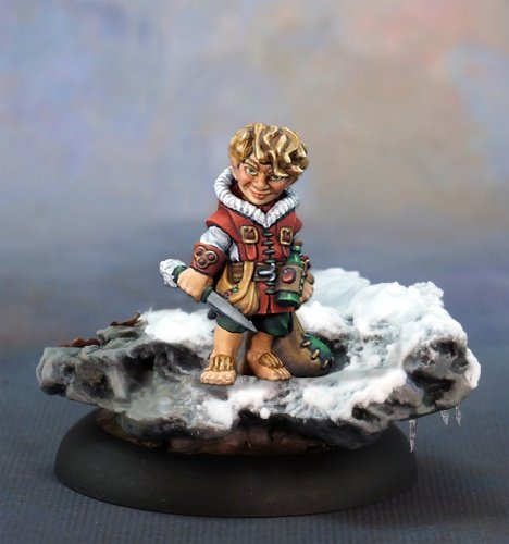 Reaper Miniatures Nick, Christmas Rogue #01597 Special Edition Unpainted Metal -