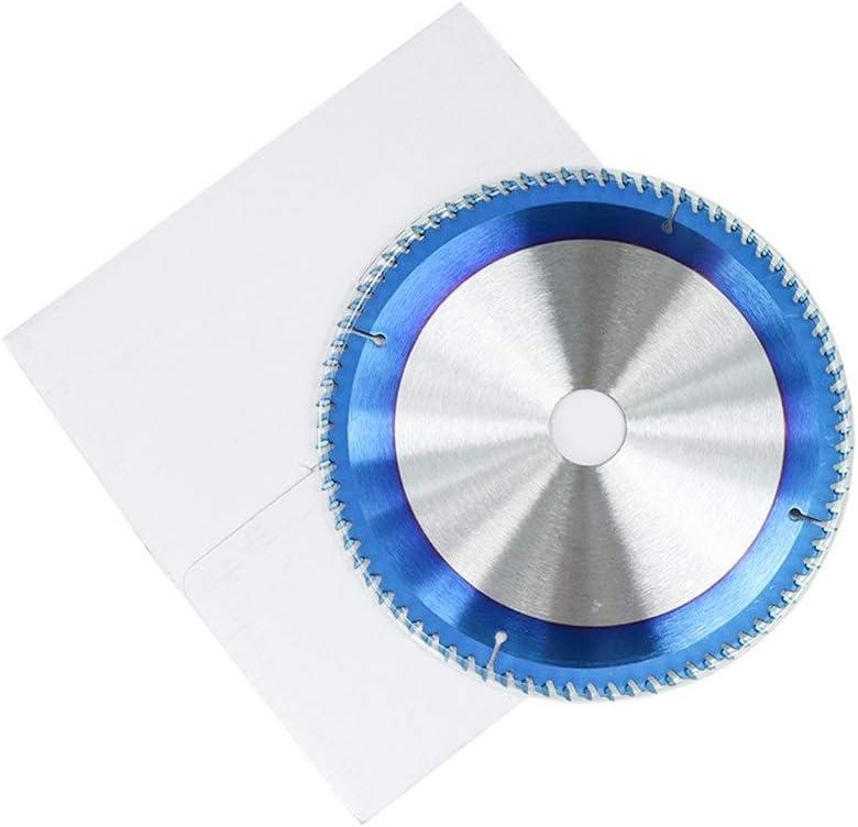 Silverline 1pc 165-300mm TCT Saw Blade Nano-Coated Blue Circular Saw Blade Cutting Blade Woodworking Tip Carbide Saw Blade (Color : 165x2.3x20x24T) 210x1.8x25.4x24t