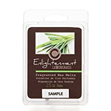 Hosley Candle Company Lemongrass (Enlightenment) Scented Wax Cubes / Melts - 2.5 oz. Hand poured wax infused with essential oils