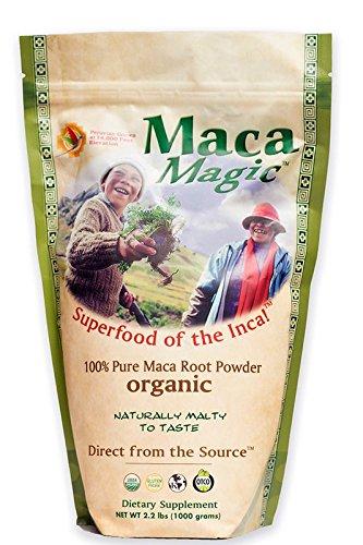 Maca Magic 100% Organic Raw Powder 2.2 lbs Organic Maca Magic