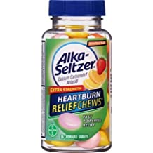 Alka Seltzer extra Strength Heartburn ReliefChews, 36 Tablets (Pack of 7)