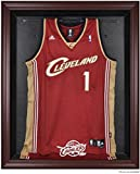 Cleveland Cavaliers Mahogany Finished Logo Jersey Display Case